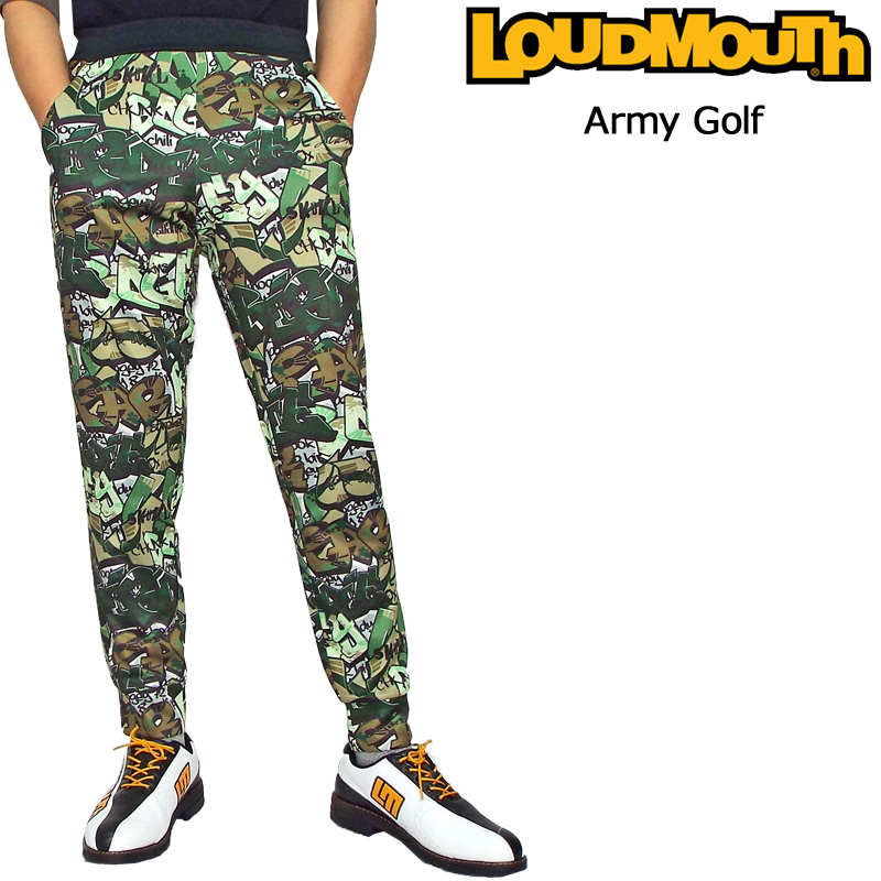 ラウドマウス 2019 スウェットパンツ (Army Golf アーミー ゴルフ) 769318(200) フィットネス ヨガ【Newest】【日本規格】【新品】 19SS Loudmouth メンズ 男性用 ロングパンツ 長ズボン ボトムス 派手 派手な 柄 目立つ 個性的