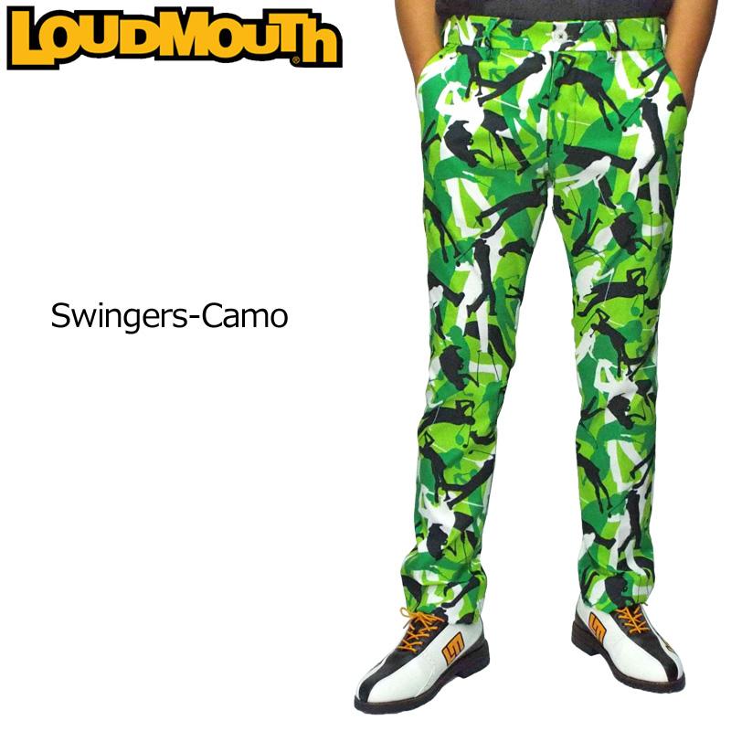 ラウドマウス メンズ ロングパンツ Swingers Camo スインガーズカモ 779302(223) 【日本規格】【新品】19FW Loudmouth ゴルフウェア ボトムス 派手 派手な 柄 目立つ 個性的 OCT1 OCT2 %off