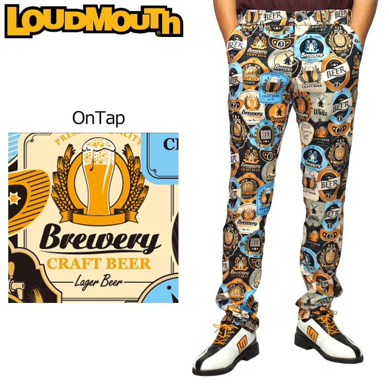 ラウドマウス メンズ ロングパンツ OnTap オンタップ 779304(217) 【日本規格】【新品】19FW Loudmouth ゴルフウェア ボトムス 派手 OCT3 NOV1 %off