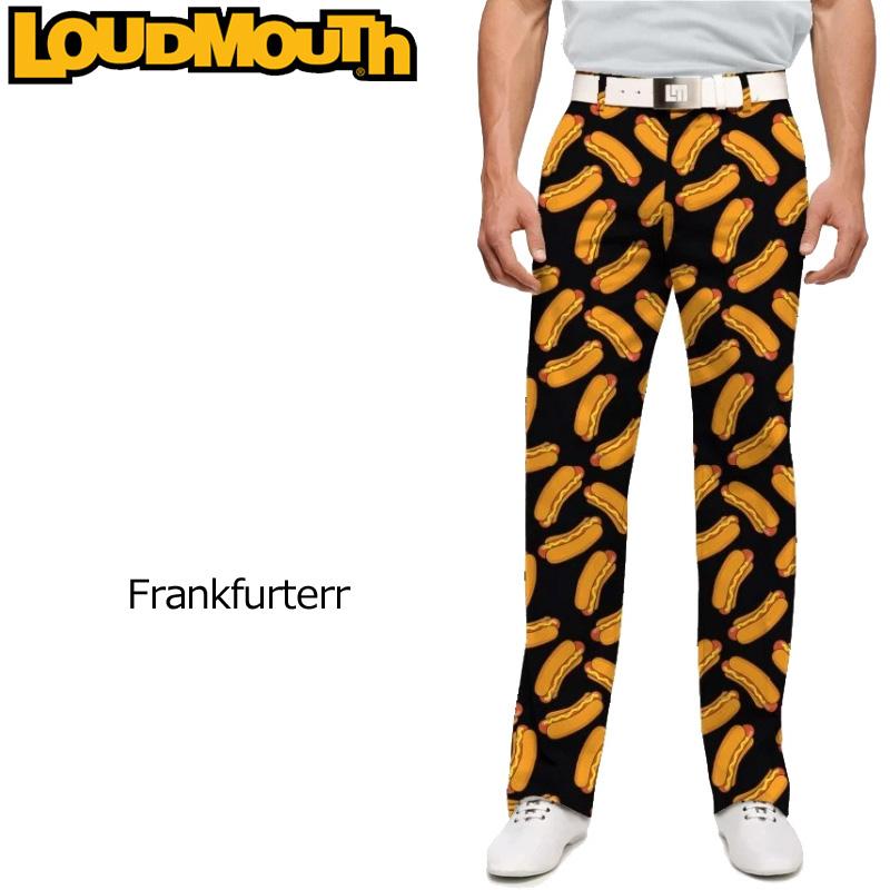 ラウドマウス メンズ ロングパンツ スリムカット (Frankfurter フランクフルター) 768330(146)【インポート】【新品】18SSゴルフウェアボトムスLoudmouth Pants Slim Cut 派手 派手な 柄 目立つ 個性的 %off