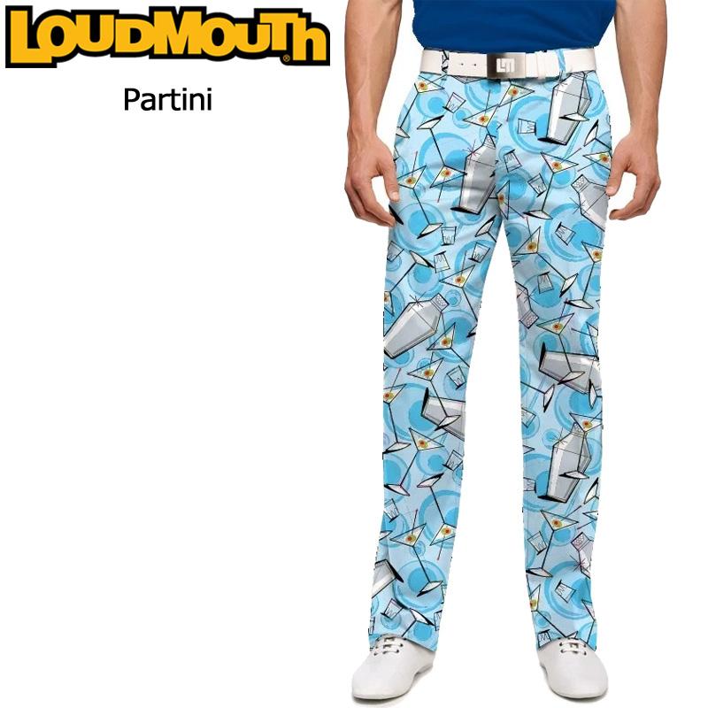ラウドマウス メンズ ロングパンツ スリムカット (Partini パーティニ) 777325(108)【インポート】【新品】 17FW ゴルフウェア 男性用 ボトムス Loudmouth Pants Slim Cut派手 派手な 柄 目立つ 個性的 %off