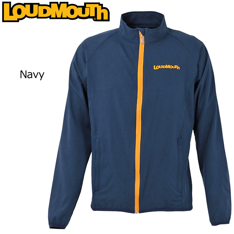 ラウドマウス メンズ オールウェザー ブルゾン Navy ネイビー 769200(997) 【日本規格】【新品】 アウター 19SS Loudmouth 春 夏 秋 メンズウェア ゴルフウェア JUN2