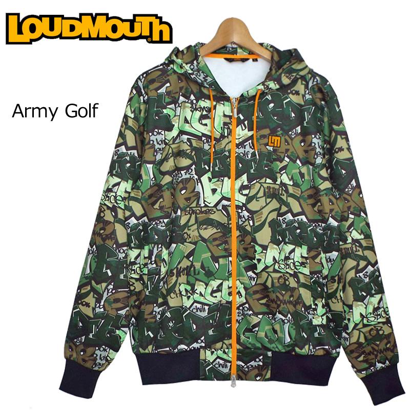 ラウドマウス スウェットパーカー (Army Golf アーミー ゴルフ) 769401(200) 【Newest】【日本規格】【新品】 19SS Loudmouth フィットネス ヨガ ゴルフウェア アウター トップス フーディー 派手 派手な 柄 目立つ 個性的