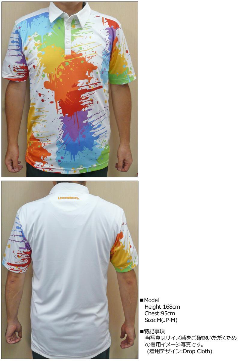 """【メール便可250円】Loudmouth Fancy Shirt """"Oh Canada"""" ラウドマウス 半袖 ファンシーシャツ """"オーカナダ"""" 【新品】 Loudmouth メンズ ポロシャツ ゴルフウェア トップス"""