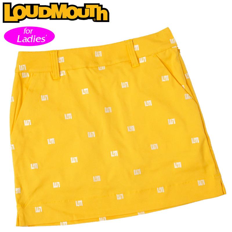 【メール便発送】ラウドマウス 2020 スカート インナー付き Yellow イエロー 760356(993) 【日本規格】【新品】20SS Loudmouth レディース スコート MAY2 MAY3