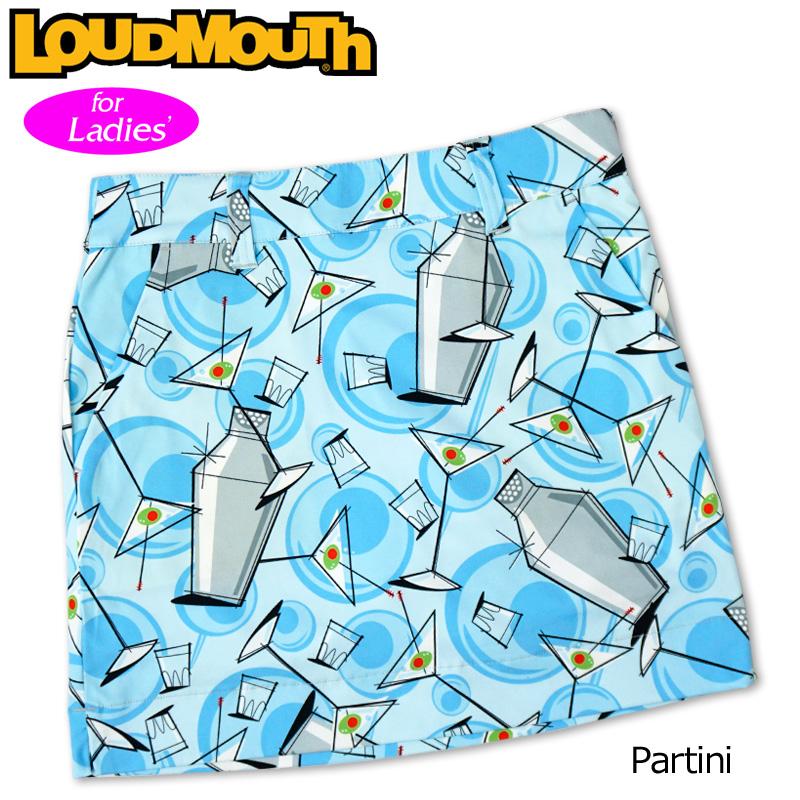 【メール便発送】【日本規格】ラウドマウス 2020 スカート インナー付き Partini パーティニ 760358(108) 【新品】20SS Loudmouth レディース スコート MAY1 MAY2