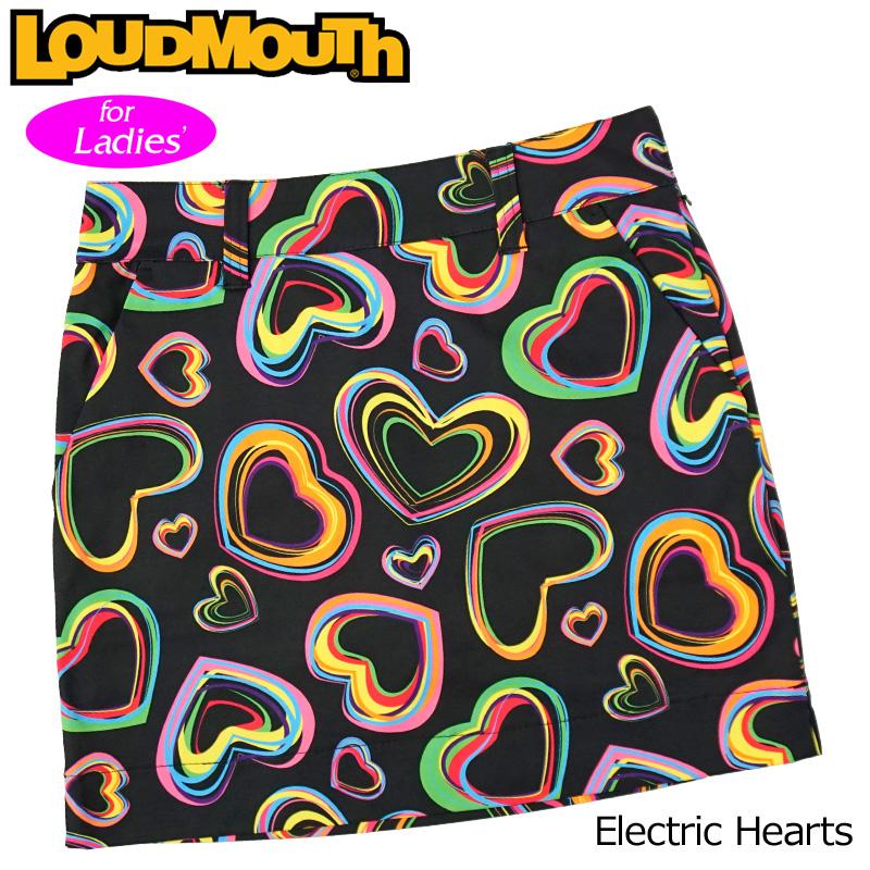 【メール便発送】ラウドマウス 2020 スカート インナー付き Electric Hearts エレクトリックハーツ 760358(240) 【日本規格】【新品】20SS Loudmouth レディース スコート MAY1 MAY2