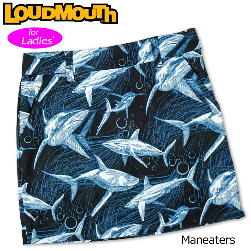 【メール便発送】ラウドマウス 2020 スカート インナー付き Maneaters マンイーター 760359(244) 【日本規格】【新品】20SS Loudmouth レディース スコート MAY1 MAY2