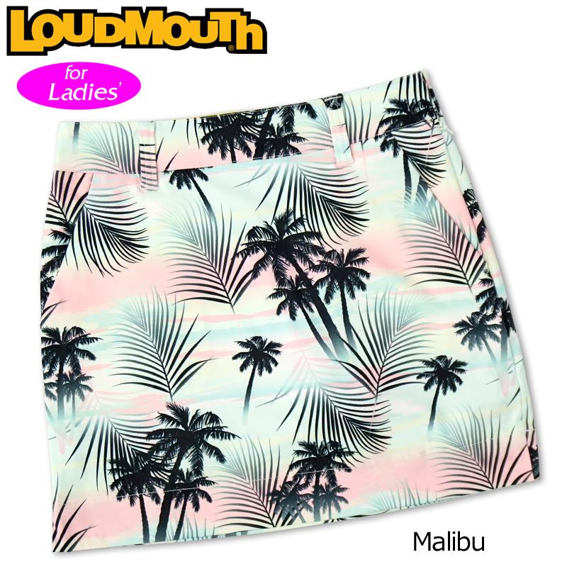 【メール便発送】ラウドマウス 2020 スカート インナー付き Malibu マリブ 760359(255) 【日本規格】【新品】20SS Loudmouth レディース スコート MAY1 MAY2