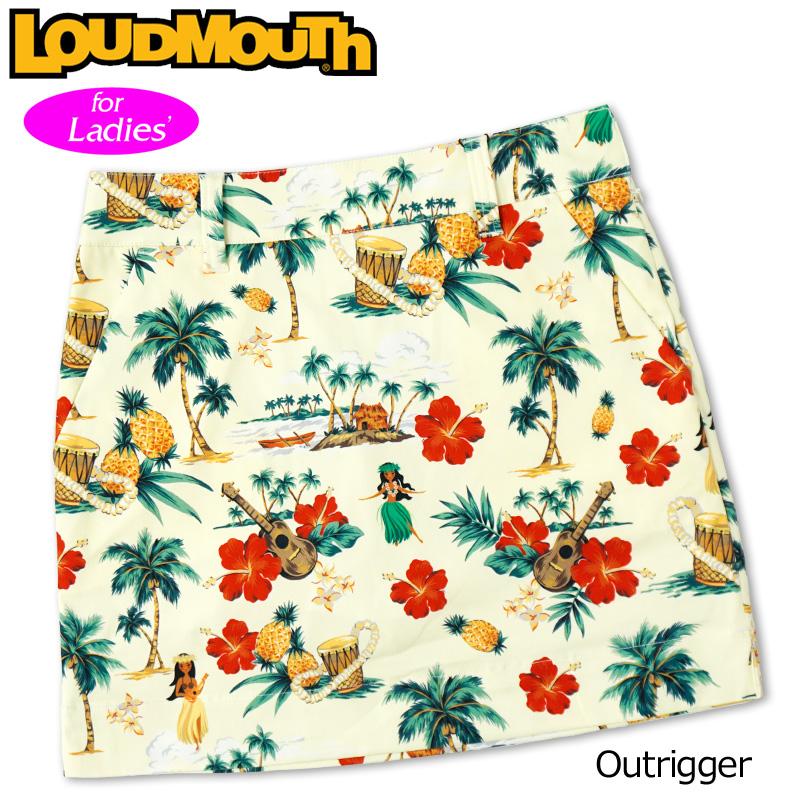 インナー付き 2020 Outrigger Loudmouth アウトリガー スコート レディース %off 【日本規格】【新品】20SS スカート 【メール便発送】ラウドマウス 760359(256)