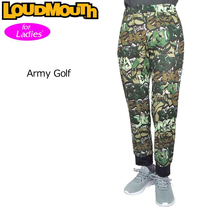レディース ラウドマウス ジョガーパンツ スウェットパンツ (Army Golf アーミー ゴルフ) 769374(200) フィットネス ヨガ 【Newest】【日本規格】【新品】 19SS Loudmouth レディス 女性用 ロングパンツ 長ズボン ボトムス 派手 派手な 柄 目立つ 個性的