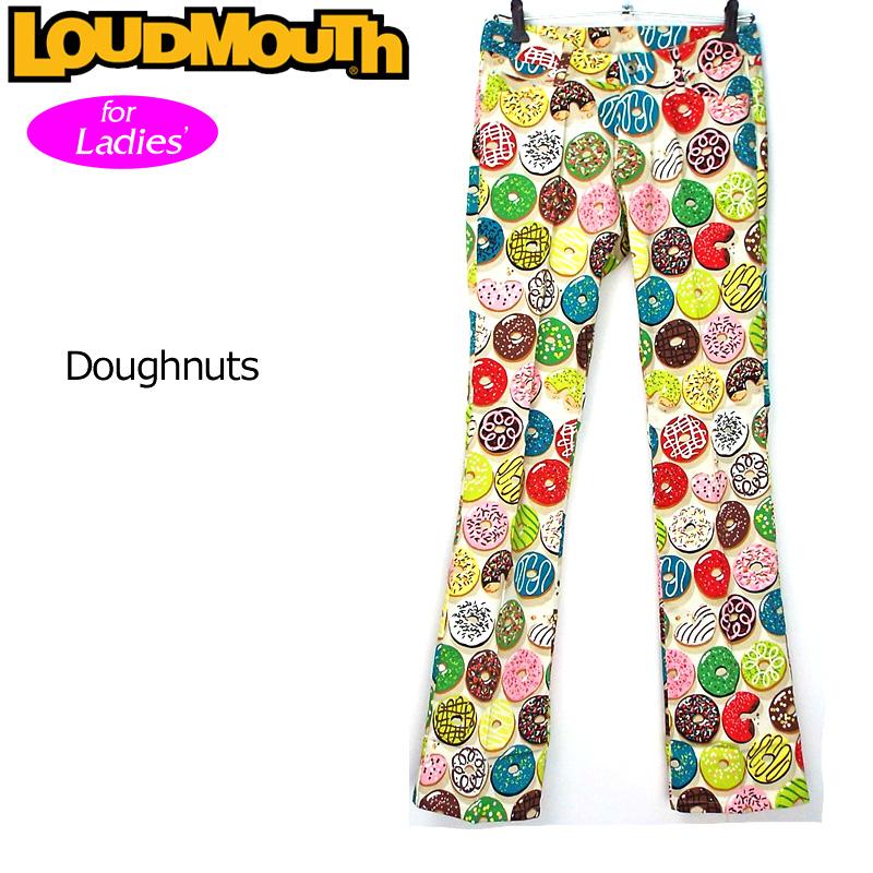 レディース ラウドマウス ロングパンツ ジーンズカット (Doughnuts ドーナッツ) 767380(094)【インポート】【新品】 17SS ゴルフウェア レディス 女性用 Loudmouth Long Pants Jeans Cut派手 派手な 柄 目立つ 個性的 %off