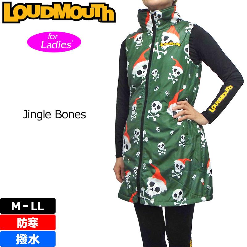 レディース ラウドマウス 中綿 ワンピース Jingle Bones ジングルボーンズ 726706(041) 秋冬 【日本規格】【新品】16FW Loudmouth 防寒 ベスト ゴルフウェア OCT1 OCT2 %off