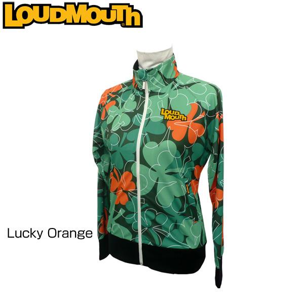 レディース ラウドマウス フルジップジャケット (Lucky Orange ラッキーオレンジ) 767451(064) 春夏【日本規格】【新品】 17SS Loudmouth 女性用 レディス ゴルフウェア トップス アウター ブルゾン 緑 %off