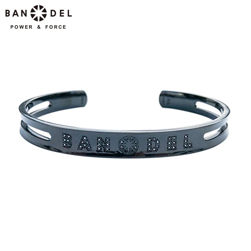 BANDEL(バンデル) 2019継続 ダイヤモンド カスタム バングル ブラック 【新品】19SS diamond custom bangle FEB2 FEB3