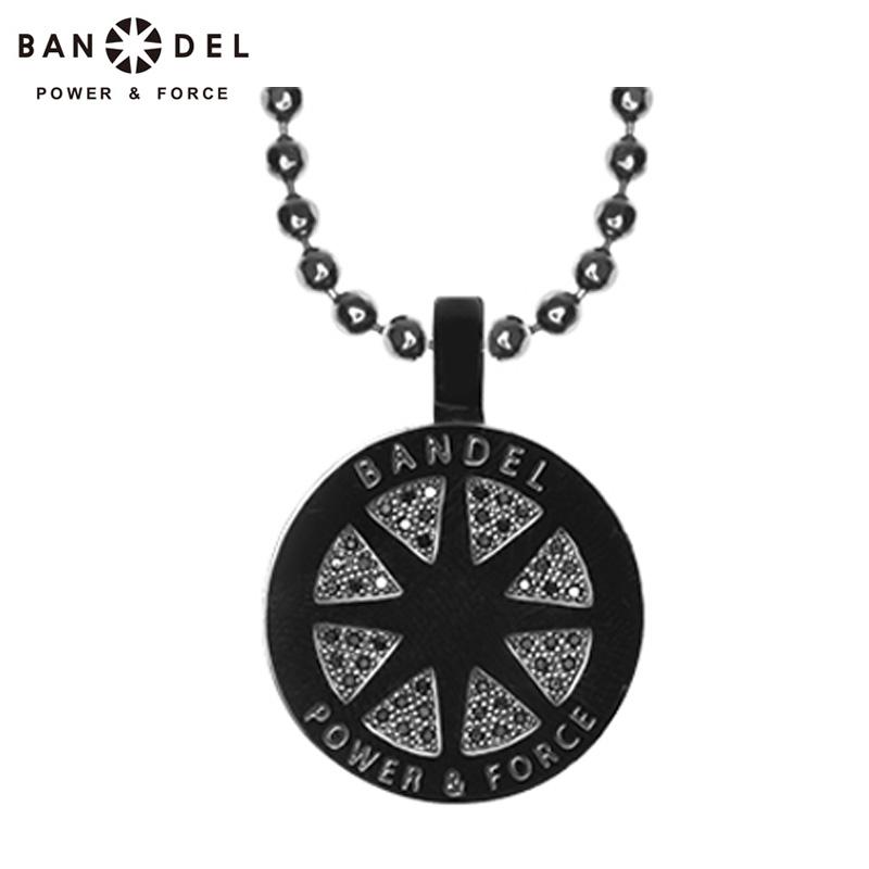 BANDEL(バンデル) 2019継続 ダイヤモンド カスタム ネックレス ブラック チェーン長さ/55cm ヘッドサイズ/直径17mm 【新品】19SS diamond custom necklace FEB2 FEB3