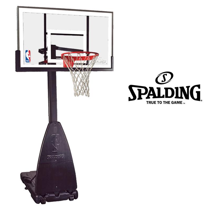 SPALDING スポルディング プラチナム ポータブル バスケットゴール (スタンド付) 68490JP 【新品】バスケットボール basketball 家庭用ゴール NBA公認 MAR2 MAR3