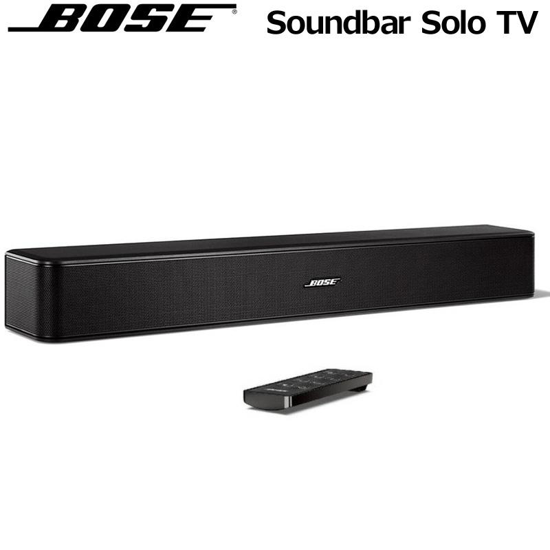 Bose ボーズ サウンドバー Solo TV 一体型 ワイヤレス スピーカー システム【新品】 Soundbar Solo TV Bluetooth ブルートゥース 接続 DEC3 JAN1