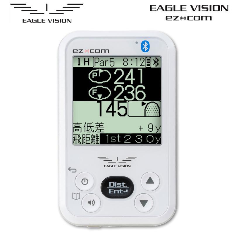 朝日ゴルフ EAGLE VISION ez com イーグルビジョン イージーコム EV-731 スマホと連動【正規販売店・保証付】【新品】GPS距離計ゴルフ