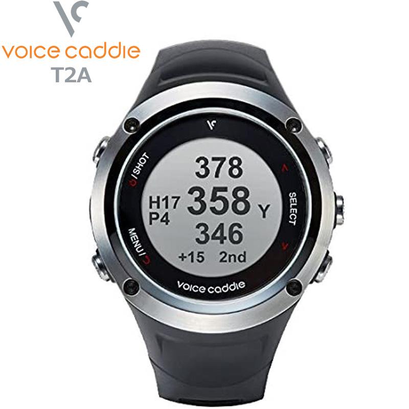 ボイスキャディ 2018 T2A ブラック GPSゴルフウォッチ 時計型[新品]Voice Caddie 音声型距離測定器ゴルフウォッチ Hybrid Golf Watch JUN3 JUL1
