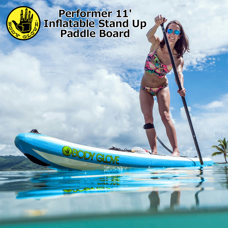 BODY GLOVE ボディグローブ インフレータブル 11フィート サップ スターターセット USモデル【新品】 Performer 11' Inflatable Stand Up Paddle Board Package SUP スタンドアップ パドルボード メンズ レディース カヌー カヤック