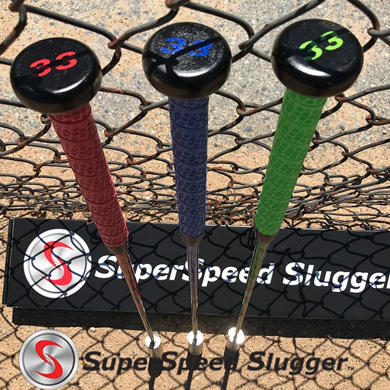 スーパースピードスラッガー プロ(高校生~プロ向け) 3本セット Super Speed Slugger 【日本正規品】【新品】 野球 練習 素振り ヘッドスピード アップ トレーニング