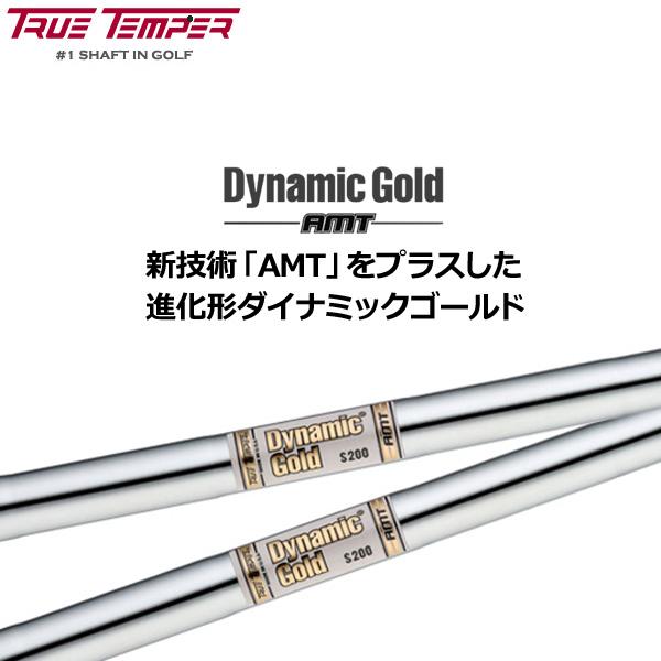 Dynamic Gold ダイナミックゴールドAMT アイアン用シャフト 6本組(#5-PW) 【日本仕様】【新品】true temper トゥルーテンパー %off