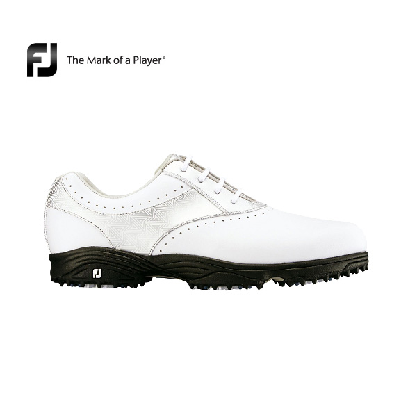b4e4967a4d16  coupon existence   Lady s  a foot Joey 2017 eMerge (93917) white   silver  W(2E)  new article  FOOTJOY image golf shoes light weight rubber spikesless  woman
