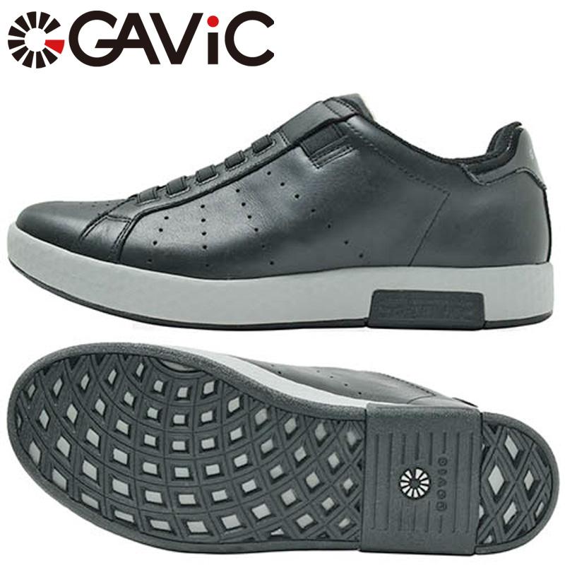 ガビック 継続 ライフスタイル スニーカー ゼウス ZEUS BLK GVC-001 【新品】19SS GAVIC ブラック 天然皮革 サッカー フットサル 靴 シューズ GVC001 %off