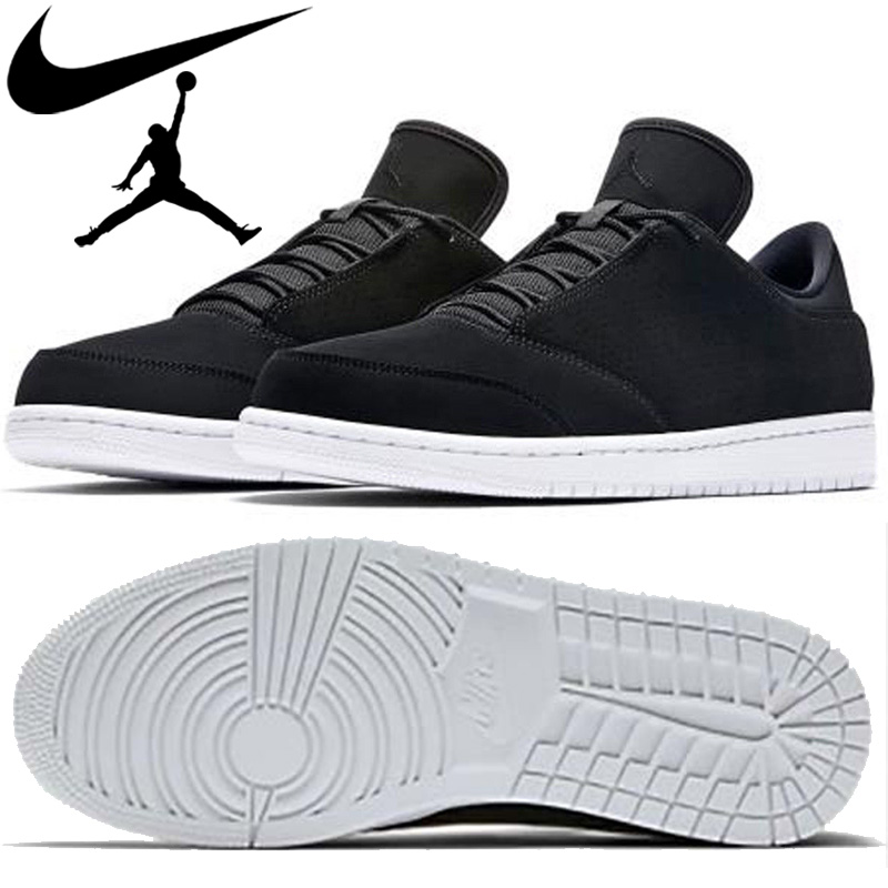 2e3850ca0 Nike NIKE men sneakers Air Jordan 1 flight 5 low 888,264-010 black AIR  JORDAN ...