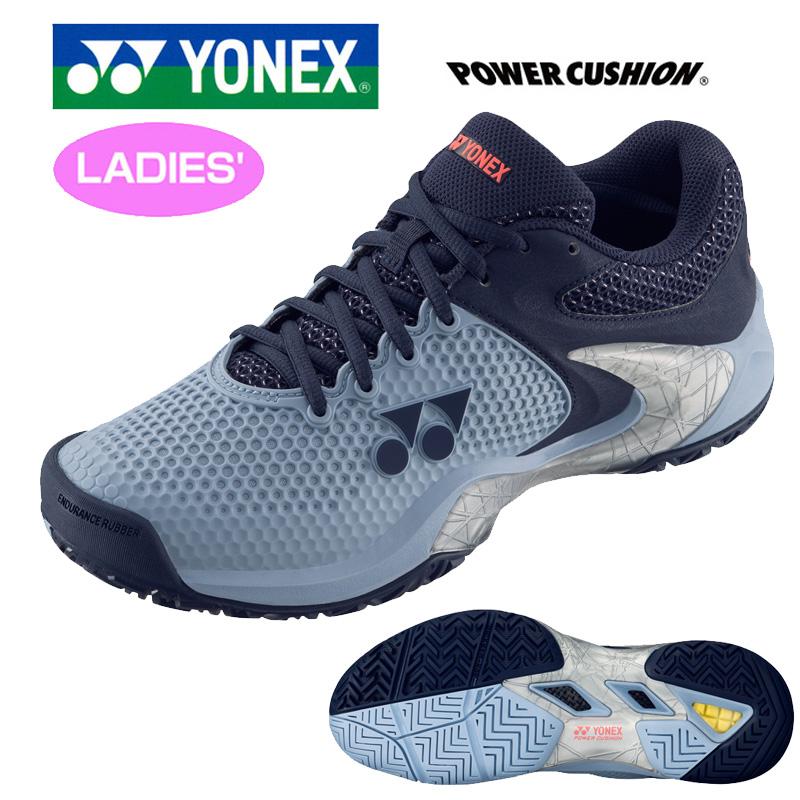 【オールコート用】ヨネックス 2019継続 レディース テニスシューズ SHTE2LAC パワークッションエクリプション2 AC【新品】YONEXレディス女性ローカット JAN1 JAN2