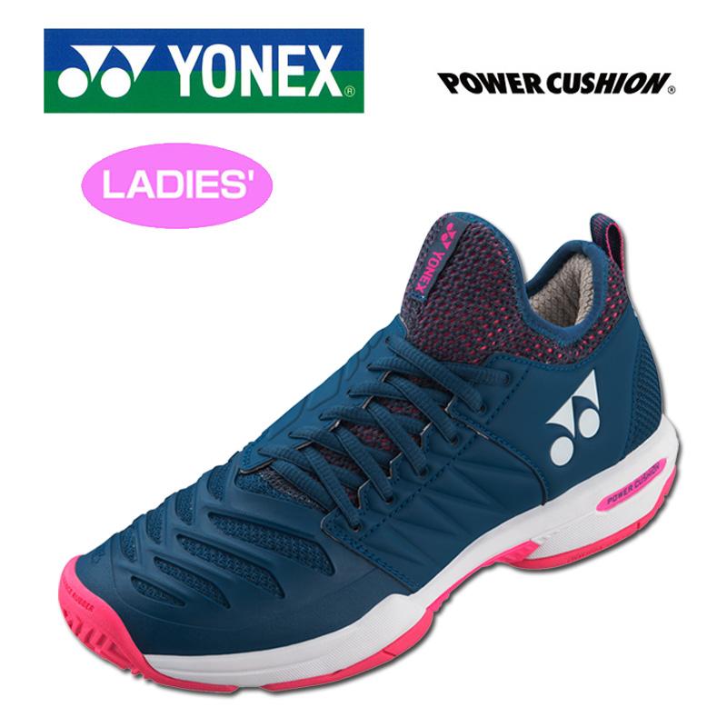【オールコート用】ヨネックス 2019継続 レディース テニスシューズ SHTF3LAC パワークッション フュージョンレブ3 AC 【新品】YONEXレディス女性ローカット FEB1 FEB2