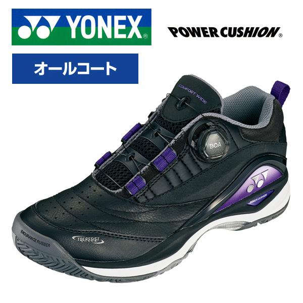 【オールコート用】ヨネックス テニスシューズ SHTCWD2A パワークッションコンフォートワイドダイアル2AC 幅4E【新品】YONEX4Eメンズ男性レディース女性