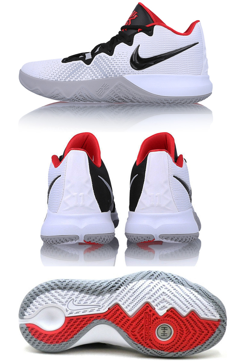 c80840c74f32 Nike NIKE men basketball shoes KYRIE FLYTRAP white   black - university red  AA7071-102 new article chi leaf light lap shoes sneakers %off