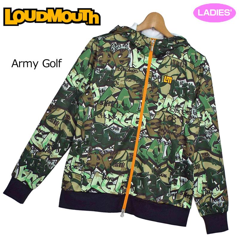【Newest】【日本規格】レディース ラウドマウス 2019 スウェットパーカー (Army Golf アーミー ゴルフ) 769451(200) 春夏【新品】 19SS Loudmouth レディス 女性用 ゴルフウェア アウター トップス フーディー 派手 派手な 柄 目立つ 個性的 MAR1 MAR2