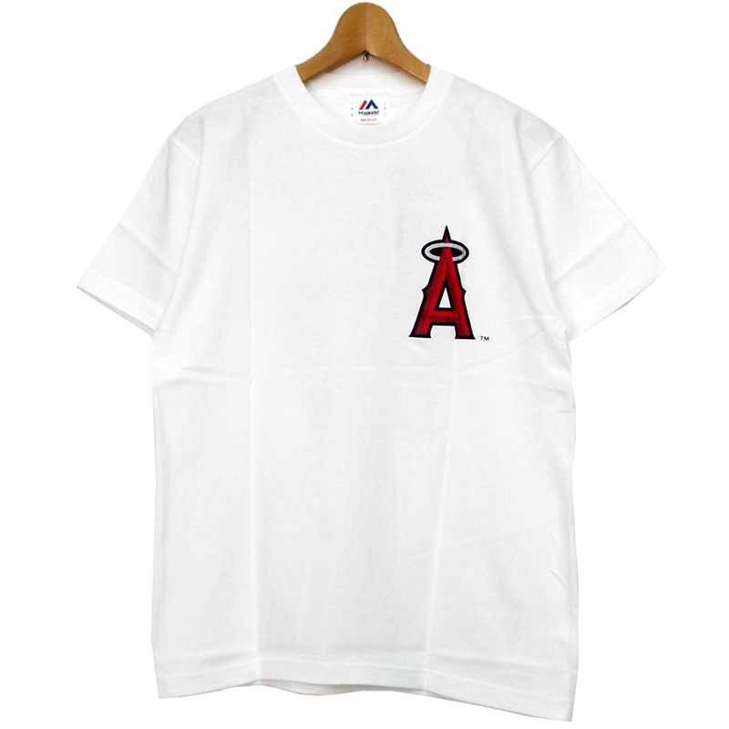 ... MLB Los Angeles Angels Otani short sleeves T-shirt white Los Angeles  Angels majestic Majestic ... 2e3cad6e7