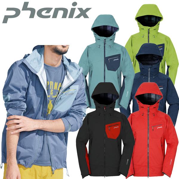 フェニックス メンズ アウトドア レインジャケット PH612ST11【新品】16SSPhenixレインウェア雨カッパ防水アウター男性女性レディース