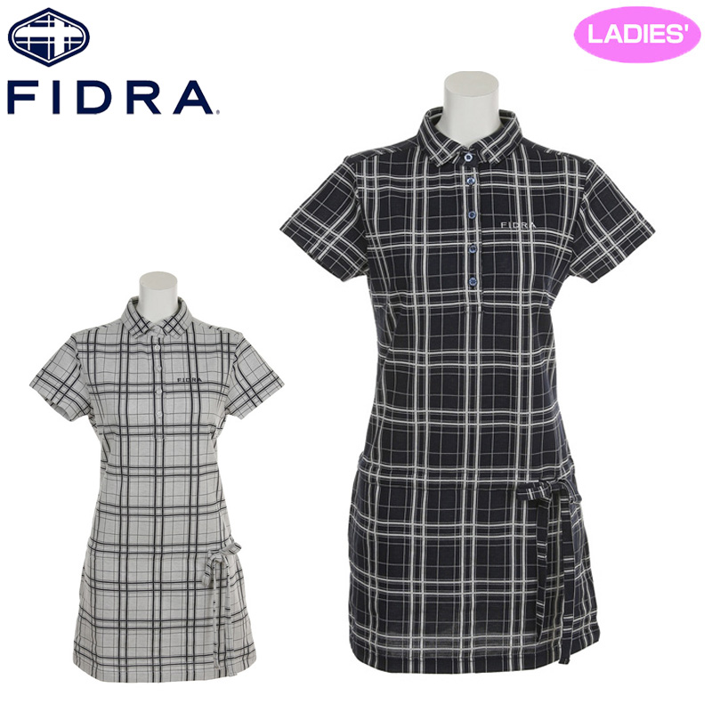 【30%off】フィドラ 2018 レディース 半袖ワンピース FDA0722【日本正規品】【新品】18SS FIDRA ゴルフウェア女性用レディススカート