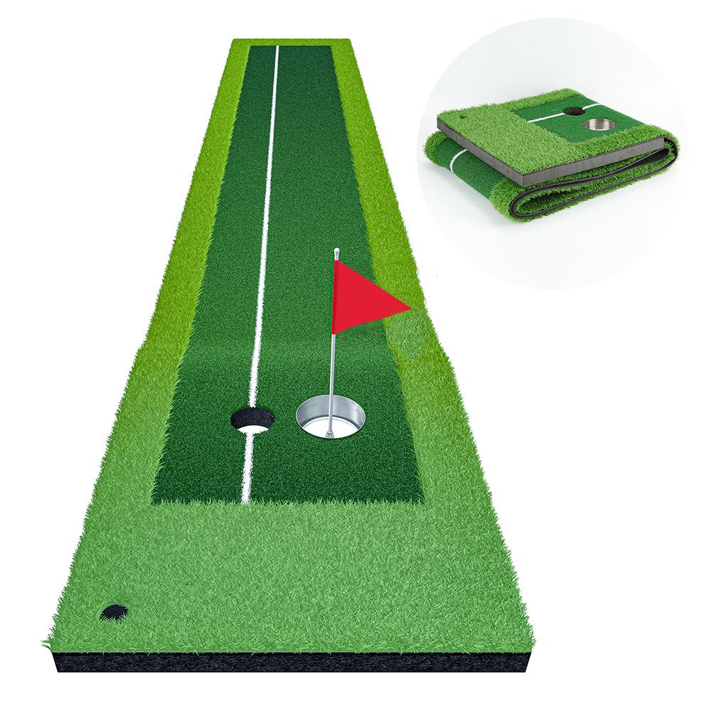 日本正規品 パターマット 3m パター練習器具 パター練習マット 傾斜あり パターマット練習 パッティング パット パター ゴルフ 大型 ライン 練習器具 激安セール ベント パット練習 カップ パター練習 練習用具