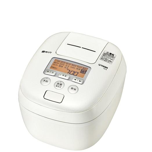 JPC-B102-WM タイガー 圧力IH炊飯ジャー 炊きたて 5.5合炊き JPC-B102WM ミルキーホワイト