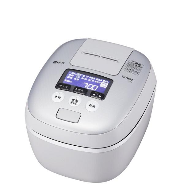 タイガー 圧力IH炊飯ジャー 炊きたて JPC-A101-WH 5.5合炊き JPC-A101WH ホワイトグレー