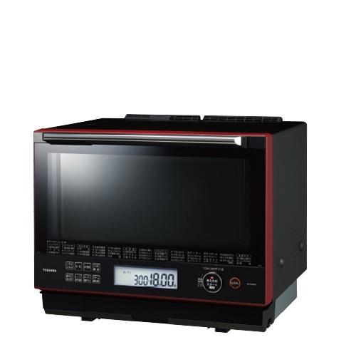 東芝 過熱水蒸気オーブンレンジ 30L 石窯ドーム ER-SD3000(R) グランレッド ER-SD3000
