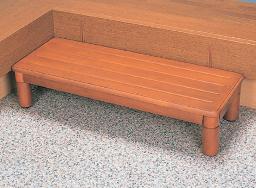 木製玄関ステップ 1段ワイド900