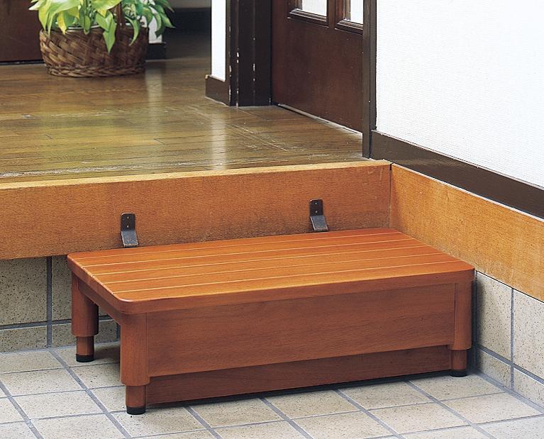 木製玄関踏み台GR  I型 幅45cm