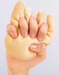 指の圧迫を和らげ ムレを防止 WEB限定 ビーズプチハンド 高級な