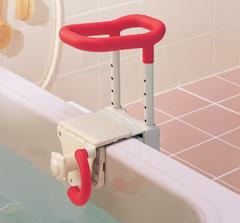 安寿高さ調節付き浴槽てすりUST-130