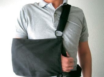 亜脱臼やケガの防止に ブランド激安セール会場 ベルト付つり包帯 有名な