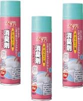 ポータブルトイレの消臭 安寿 高価値 消臭剤フォームタイプ 5本 タイムセール