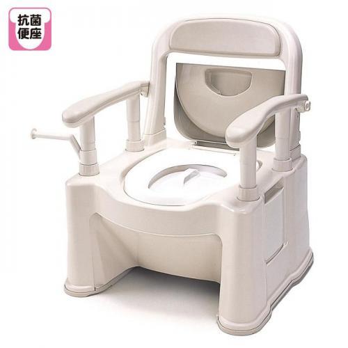 パナソニック ポータブルトイレ 座楽 SP型 背もたれ型SP VALSPTSPBE