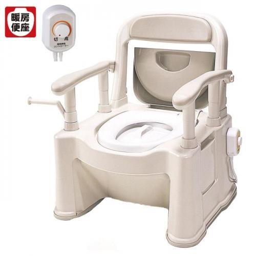 パナソニック ポータブルトイレ 座楽 SP型 背もたれ型SP あたたかタイプ VALAPTSP